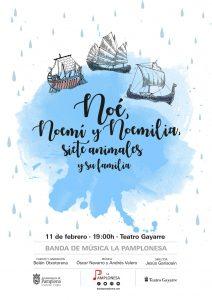 NOE, NOEMÍ Y NOEMILIA: SIETE ANIMALES Y SU FAMILIA @ TeatroGayarre