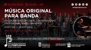 MÚSICA ORIGINAL PARA BANDA @ Teatro Gayarre