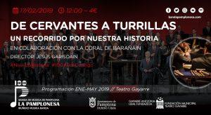 DE CERVANTES A TURRILLAS @ Teatro Gayarre