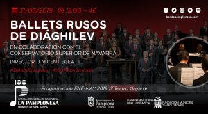 BALLETS RUSOS DE DIÁGHILEV @ Teatro Gayarre