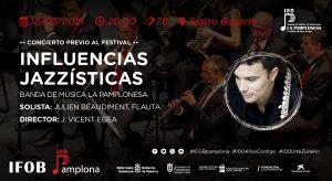 INFLUENCIAS JAZZÍSTICAS @ Teatro Gayarre