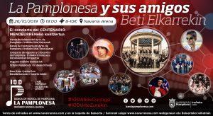 LA PAMPLONESA Y SUS AMIGOS, BETI ELKARREKIN @ Navarra Arena