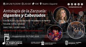 ANTOLOGÍA DE LA ZARZUELA: GIGANTES Y CABEZUDOS @ Teatro Gayarre