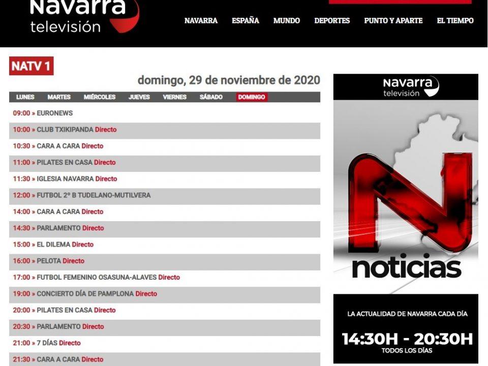 """Navarra Televisón emite el concierto """"Antología de la Zarzuela"""""""